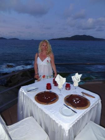 Patatran Village Hotel: Romantic dinner by the pool