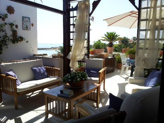 B&B Villetta sul Mare : Terrazzo
