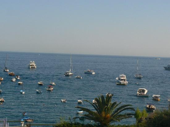 Punta Campanella Resort & Spa : vue de la chambre