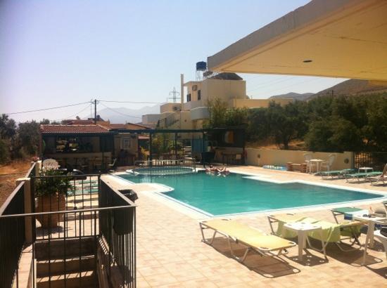 Bellino Apartments: Pool Area & Bar