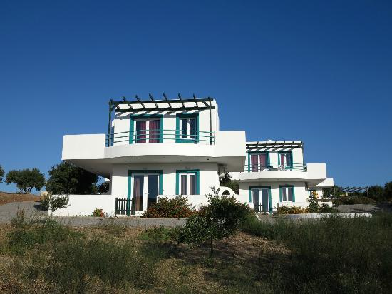 Cavo Plako Villas : View from sea side