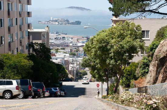 Photo Tours of San Francisco Day Tours : Alcatraz and the bay