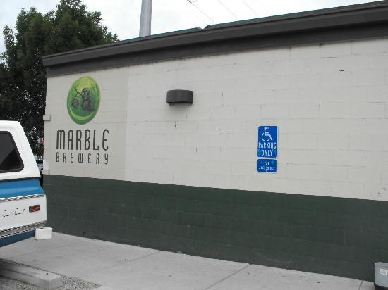 Marble Brewery: An unassuming building in the warehouse district
