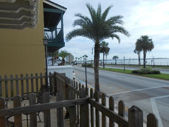 Hilton St. Augustine Historic Bayfront: view from our room