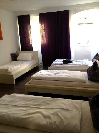 City Apart Hotel Fussen: Classic Quadruple Room