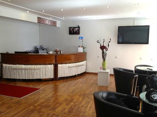 City Apart Hotel Fussen: Lobby