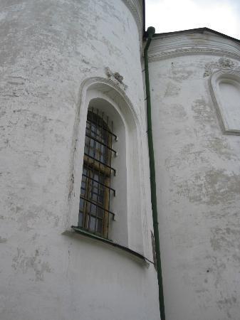 St. Cyril's Monastery: Window St. Cyril Kyiv April 2012