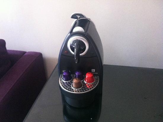 Townhouse Hotel Manchester: coffee machine