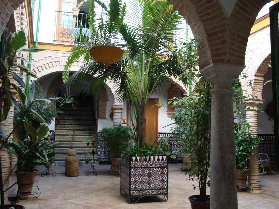 Hostel Comercio: entrée principale, jardin.
