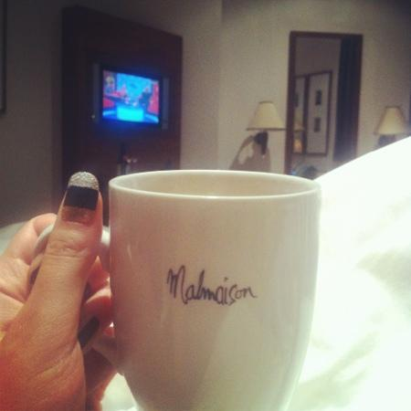 Malmaison Hotel: Relaxing in bed!