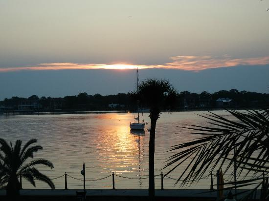 Hilton St. Augustine Historic Bayfront: Good morning Sunshine!