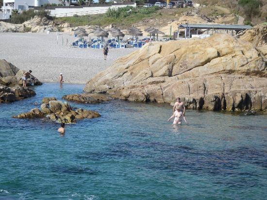 Manilva, España: la plage de la résidence