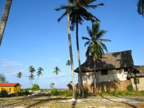 Paje Beach: Paje villaggio