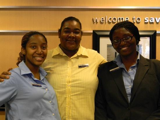 Hampton Inn Savannah - Historic District: Hotel Staff
