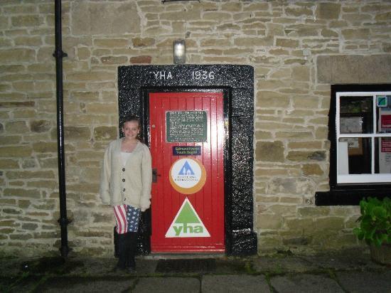 YHA Edmundbyers: front door