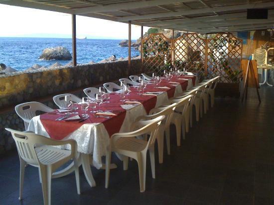 Lido Onda Azzurra : zona ristorante