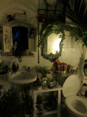 Van Gogh is Bipolar: The bathroom