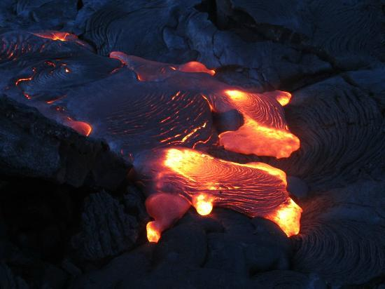 Kalapana Cultural Tours: lava