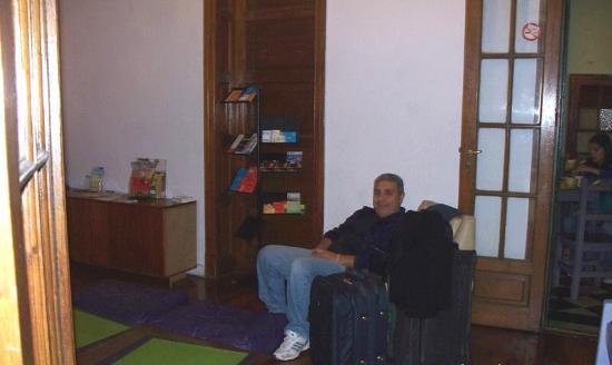 Vi Luz y Entre Hostel: Descansando antes del check-in
