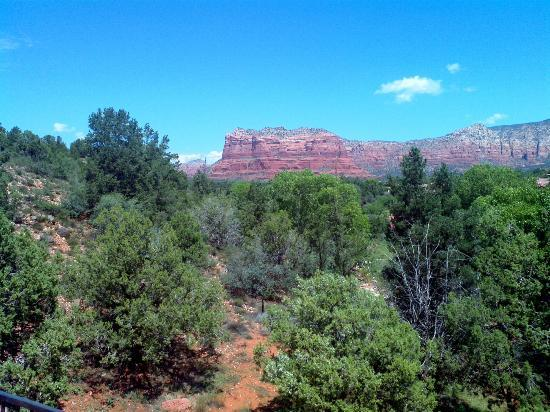Las Posadas of Sedona: View from our room!