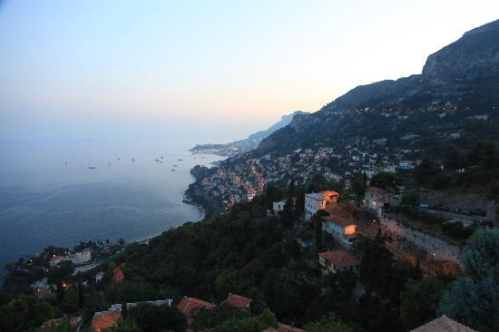 Le Roquebrune : View from the castle