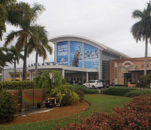 Kendall, Floride : Ingreso principal al DADELAND MALL