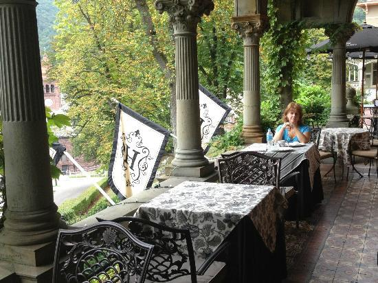 "Harry Packer Mansion Inn: Veranda Breakfast ""what a view"""