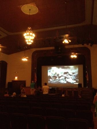 Bastrop Opera House: inside (usually live theatre)
