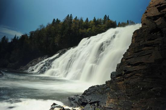 Scenic High Falls: High Falls in Wawa ON
