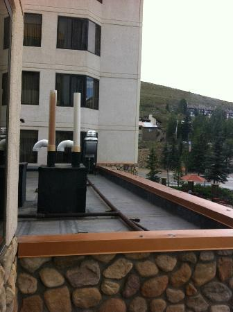 Grand Lodge Crested Butte : View from sitting room