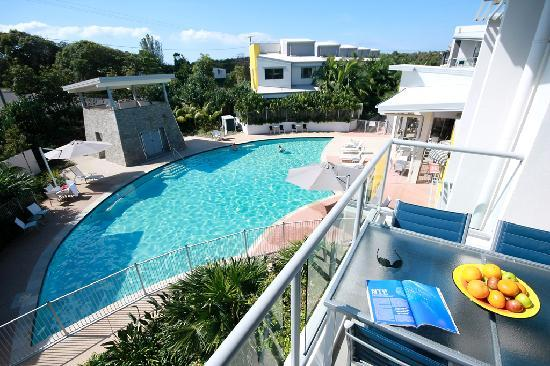 Coolum at the Beach: Enjoy our sparkling heated resort pool
