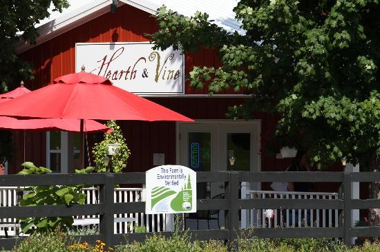 Hearth & Vine Cafe at Black Star Farms: The cafe