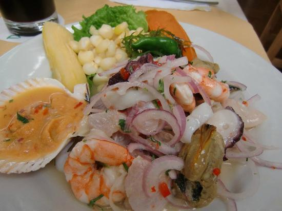 Don Fernando: mixed ceviche