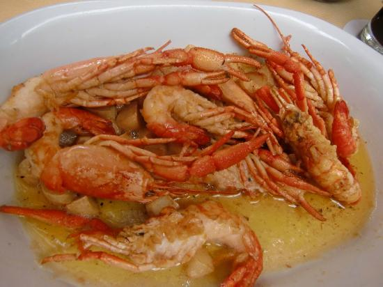 Don Fernando: prawns