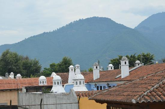 La Villa Serena: The view from the roof