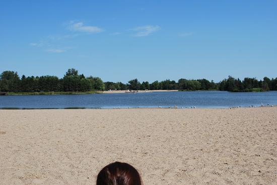 Alliston, Canada: View from the West Beach