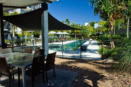 The Bay Apartments: 25 Metre Heated Lap Pool