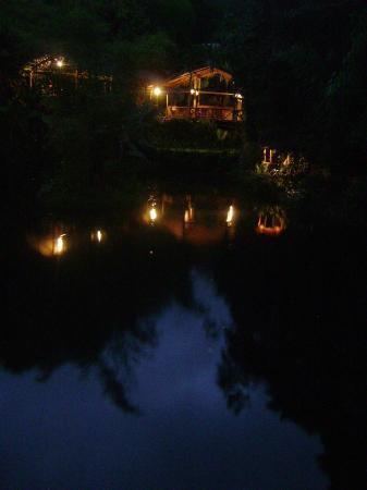 Mindo Lago: Vista en la noche