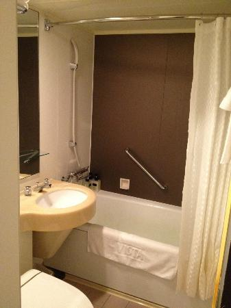 Hotel Vista Premio Dojima : バスルーム