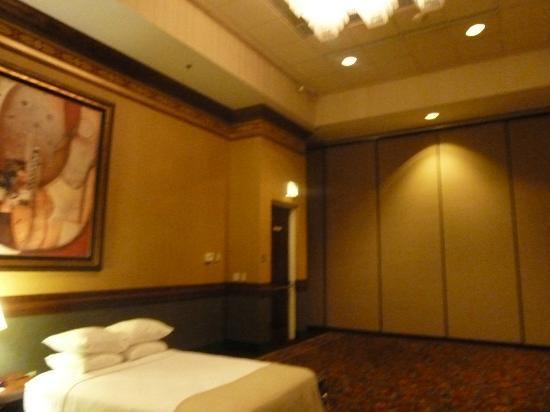 Holiday Inn Rapid City - Rushmore Plaza: Our Temporary Room!