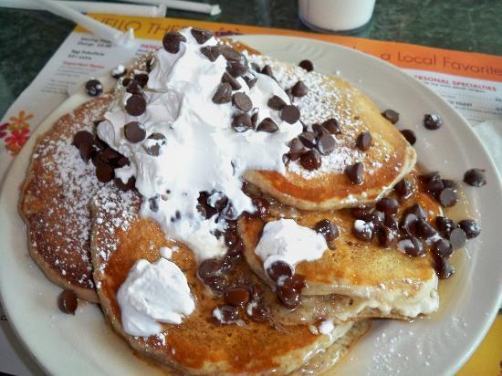 Mr Pancake: Chocolate chip pancakes