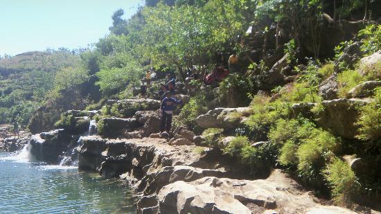 Gunung Kidul, Indonesia: Sri Gethuk Waterfall