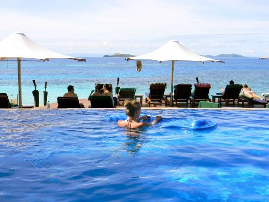 Matamanoa Island Resort : Spoll-over pool