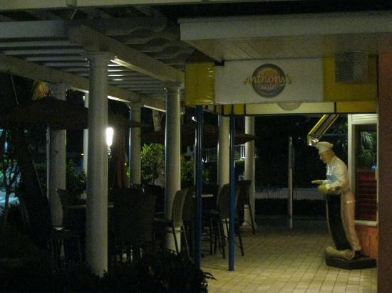 Anthony's Grill: Patio