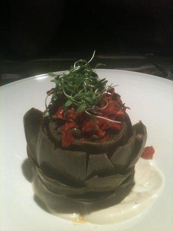 The Tap Room: artichoke appetizer