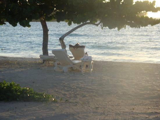 Couples Negril: Favorite spot on the beach