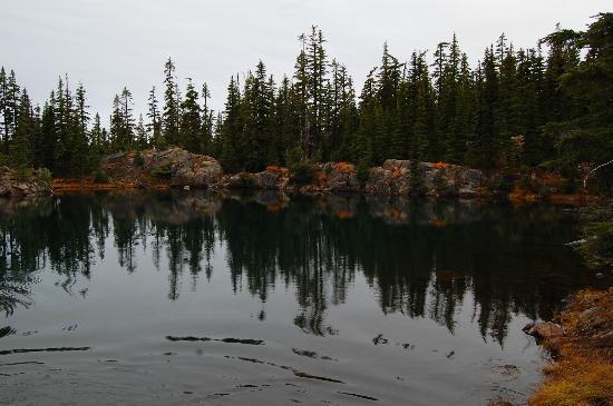 McKenzie Pass-Santiam Pass loop: Tenas lakes