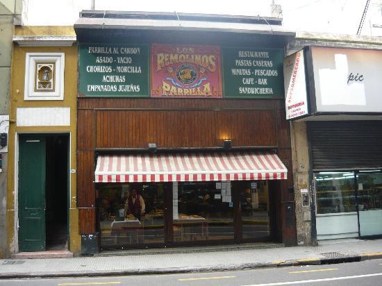 Fachada del restaurante picture of los remolinos buenos for Fachada para restaurante