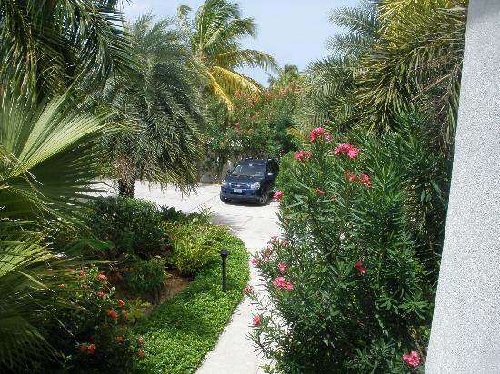 Meads Bay Beach Villas: View from Villa 4 Entrance