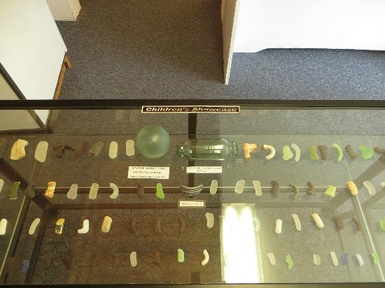 Sea Glass Museum: Display.